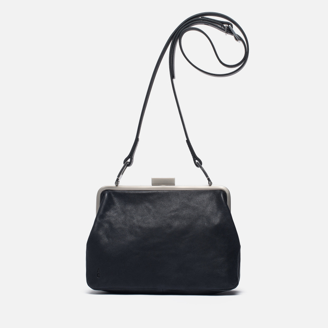 Женская сумка Ally Capellino Shirley Leather Crossbody Black