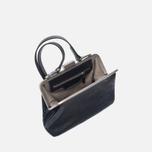 Женская сумка Ally Capellino Shirley Leather Crossbody Black фото- 2
