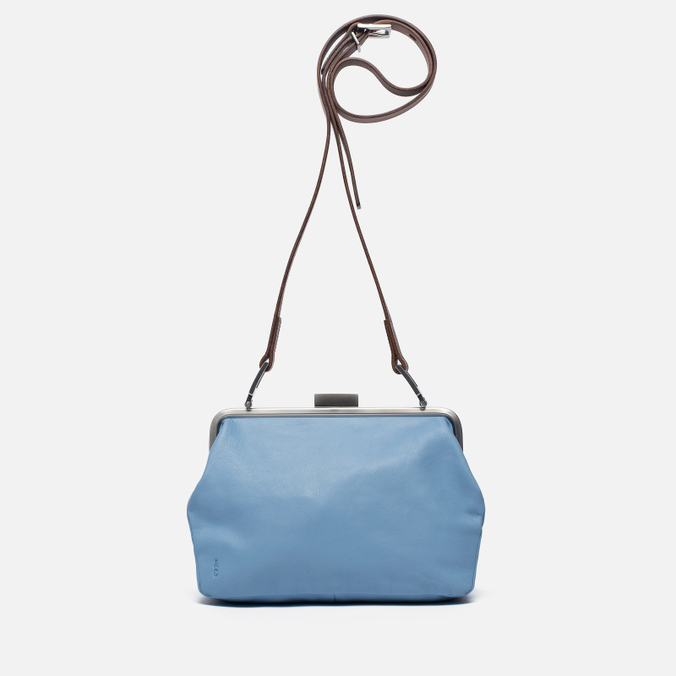 Женская сумка Ally Capellino Shirley Leather Crossbody Blue