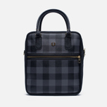 Женская сумка Fred Perry Gingham Boxy Grey/Black фото- 0