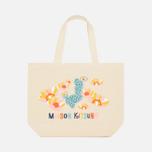 Женская сумка Maison Kitsune Cactus Ecru/Multicolor фото- 0