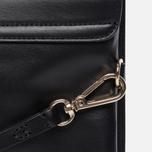 Женская сумка Maison Kitsune Clutch Leather Black фото- 3
