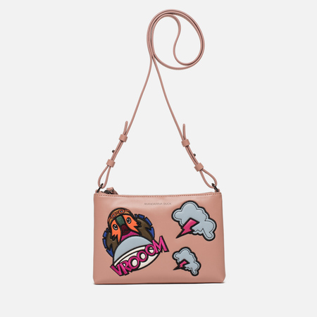 Женская сумка Mandarina Duck Patch Duck Dusty Rose