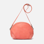 Женская сумка YMC Leather Half Circle Coral фото- 0