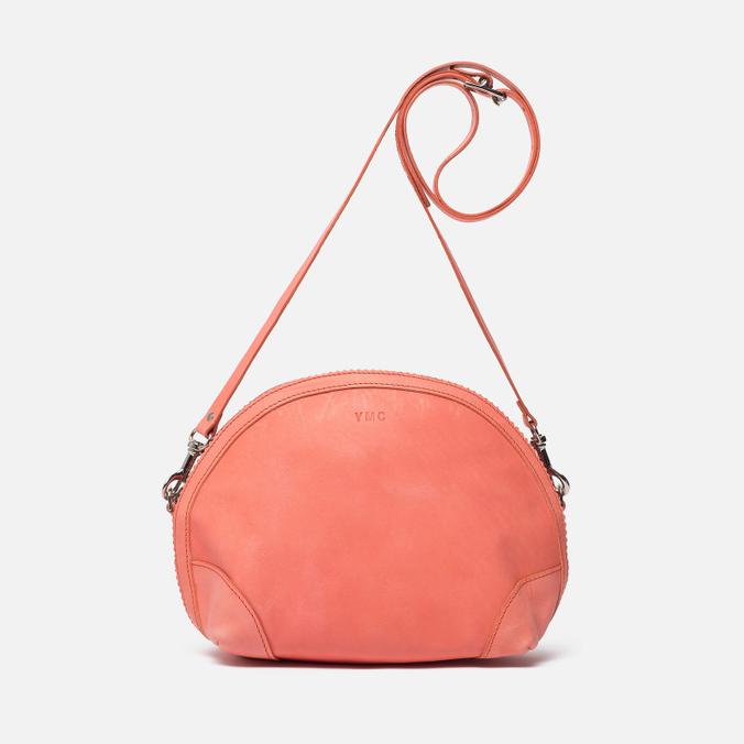 Женская сумка YMC Leather Half Circle Coral