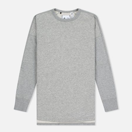 Женская толстовка adidas Originals x Reigning Champ AARC FT Crew Medium Grey Heather