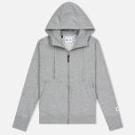 Женская толстовка adidas Originals x Reigning Champ AARC FTFZ Hoodie Medium Grey Heather фото- 0