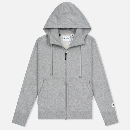 Женская толстовка adidas Originals x Reigning Champ AARC FTFZ Hoodie Medium Grey Heather