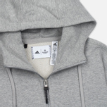Женская толстовка adidas Originals x Reigning Champ AARC FTFZ Hoodie Medium Grey Heather фото- 1