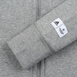 Женская толстовка adidas Originals x Reigning Champ AARC FTFZ Hoodie Medium Grey Heather фото- 3