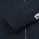 Женская толстовка adidas Originals x Reigning Champ AARC FTFZ Hoody Collegiate Navy/Cold Heather фото- 5