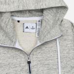 Женская толстовка adidas Originals x Reigning Champ AARC Hoody White/Grey Heather фото- 1