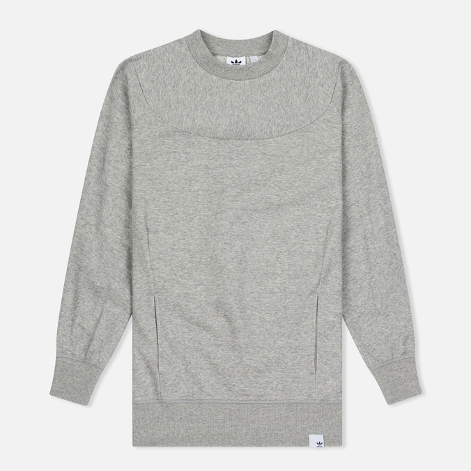 Женская толстовка adidas Originals x XBYO Crew Medium Grey Heather