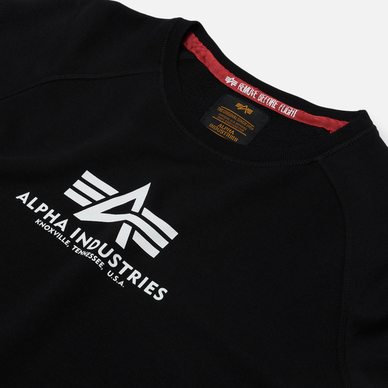 Женская толстовка Alpha Industries New Basic Black