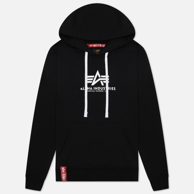 Женская толстовка Alpha Industries New Basic Hoody Black