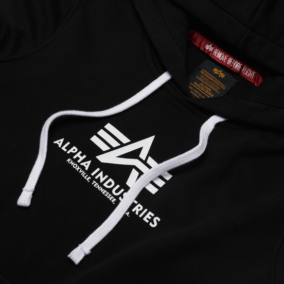 Женская толстовка Alpha Industries New Basic Hoody Black