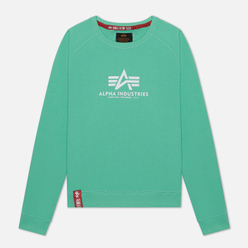 Женская толстовка Alpha Industries New Basic Pastel Mint