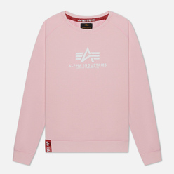 Женская толстовка Alpha Industries New Basic Pastel Pink