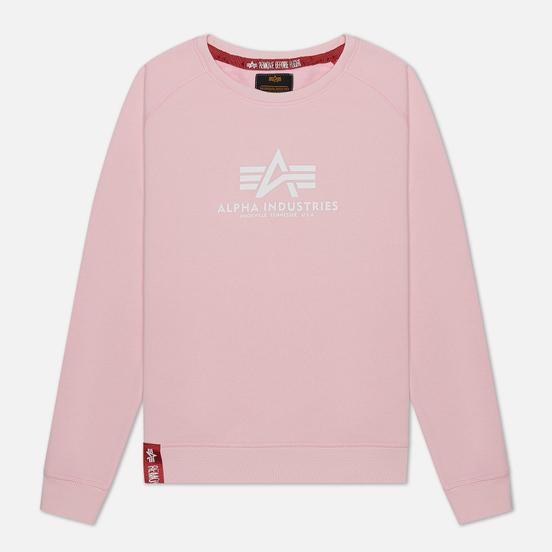 Женская толстовка Alpha Industries New Basic Pastel Pink