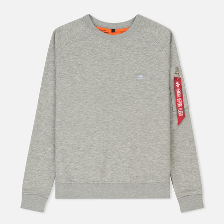 Женская толстовка Alpha Industries X-Fit Grey Heather