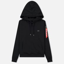 Женская толстовка Alpha Industries X-Fit Hoodie Black фото- 0