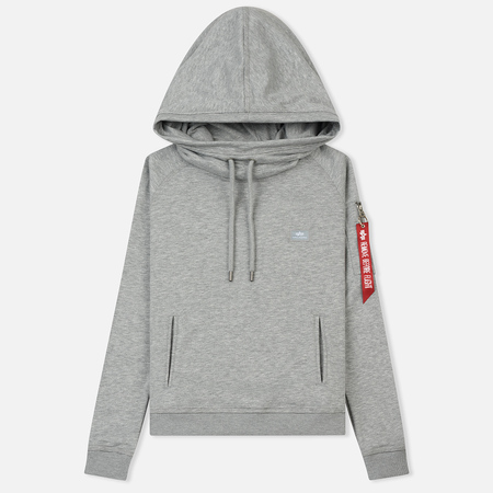 Женская толстовка Alpha Industries X-Fit Hoodie Grey Heather