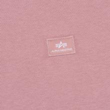 Женская толстовка Alpha Industries X-Fit Hoodie Silver Pink фото- 2
