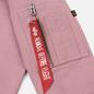 Женская толстовка Alpha Industries X-Fit Hoodie Silver Pink фото - 4