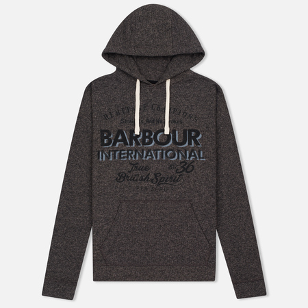 Barbour International Chicane Women's Hoody Charcoal