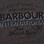 Женская толстовка Barbour International Chicane Charcoal фото- 2
