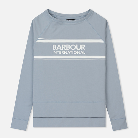 Женская толстовка Barbour International Pitch Ice Blue