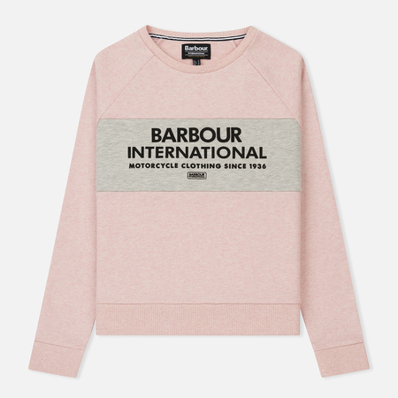 Женская толстовка Barbour International Triple Pale Pink Marl