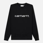 Женская толстовка Carhartt WIP W' Carhartt 13 Oz Black/White фото- 0