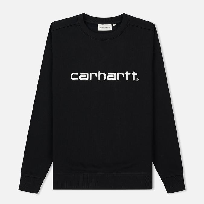 Женская толстовка Carhartt WIP W' Carhartt 13 Oz Black/White