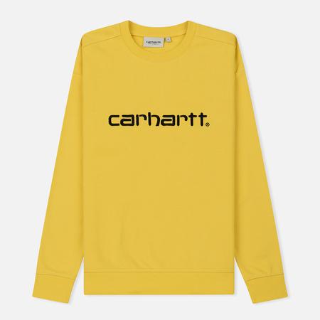 Женская толстовка Carhartt WIP W' Carhartt 13 Oz Primula/Black