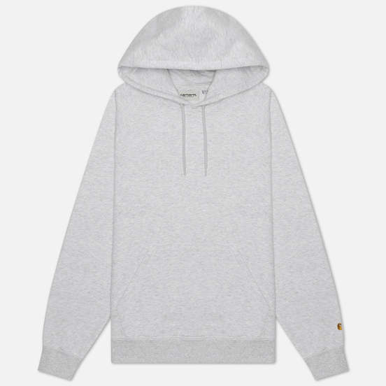 Женская толстовка Carhartt WIP W' Chasy Hooded 9.1 Oz Ash Heather/Gold