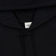 Женская толстовка Carhartt WIP W' Chasy Hooded 9.1 Oz Black/Gold фото- 1