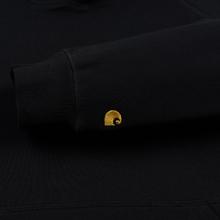 Женская толстовка Carhartt WIP W' Chasy Hooded 9.1 Oz Black/Gold фото- 3