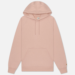 Женская толстовка Carhartt WIP W' Chasy Hooded 9.1 Oz Powdery/Gold