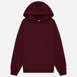 Женская толстовка Carhartt WIP W' Chasy Hooded 9.1 Oz Shiraz/Gold