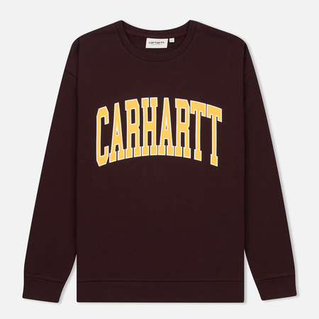 Женская толстовка Carhartt WIP W' Division 9.1 Oz Damson