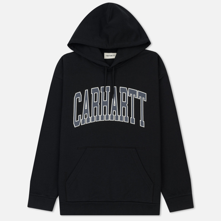 Женская толстовка Carhartt WIP W' Hooded Division 9.1 Oz Black
