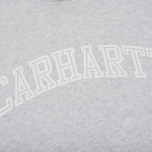 Женская толстовка Carhartt WIP W' Hooded Yale Ash Heather/White фото- 2