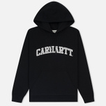 Женская толстовка Carhartt WIP W' Hooded Yale Black/White фото- 0