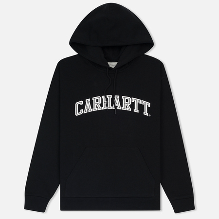 Женская толстовка Carhartt WIP W' Hooded Yale Black/White