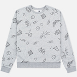 Женская толстовка Carhartt WIP W' Kala Scribble Grey Heather/Black фото- 0