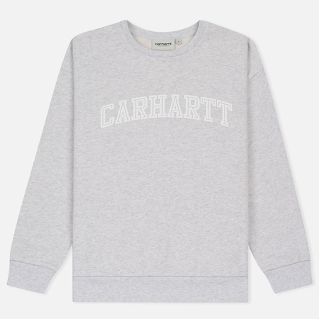 Женская толстовка Carhartt WIP W' Yale Ash Heather/White