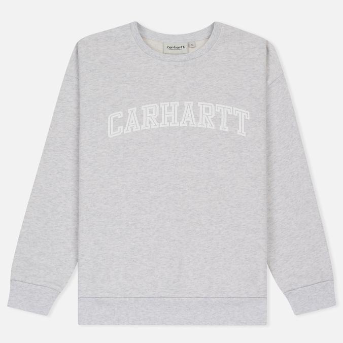 Женская толстовка Carhartt WIP W' Yale Ash Heather/White