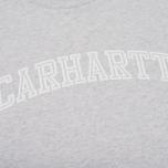 Женская толстовка Carhartt WIP W' Yale Ash Heather/White фото- 2