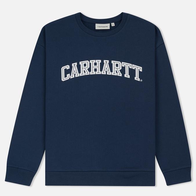 Женская толстовка Carhartt WIP W' Yale Blue/White